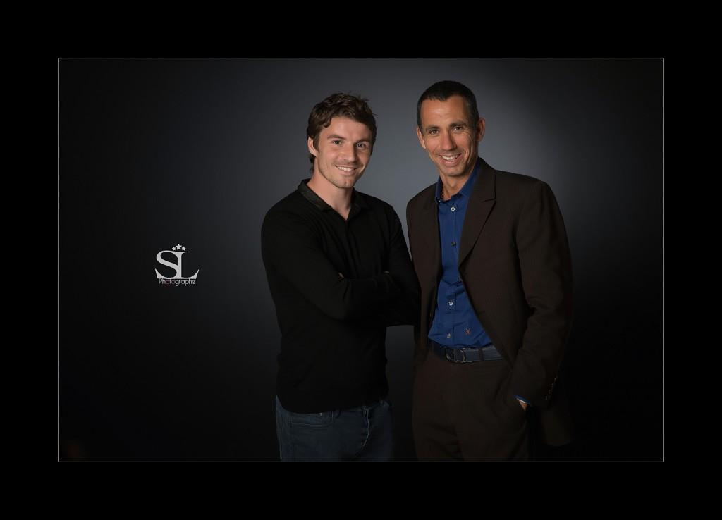 Gilles Filipp et Yannick Cahuzac